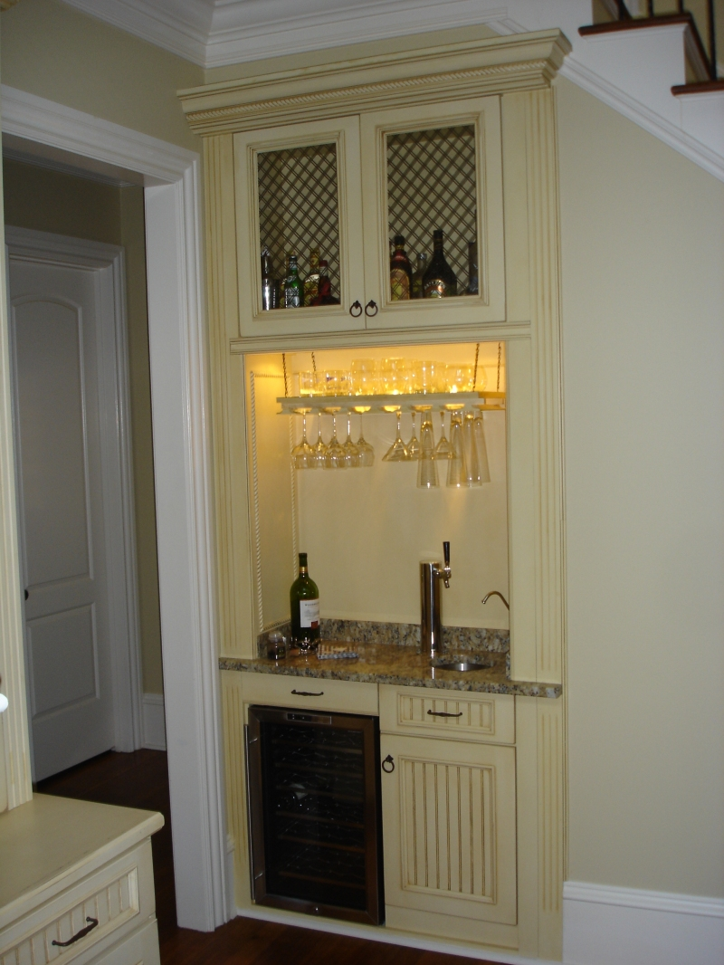 Custom Bar With Wine Fridge Amp Beer Tap