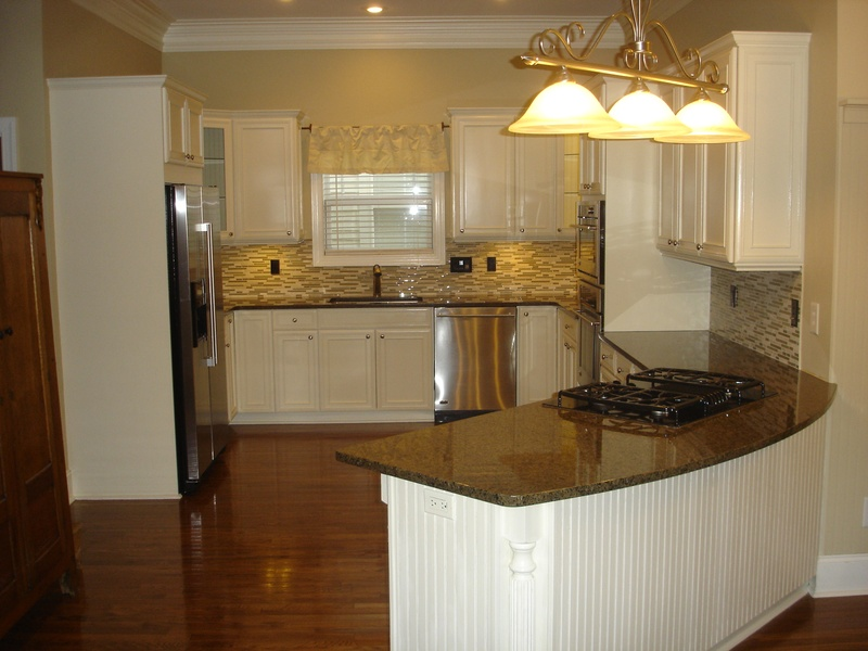 Full View Of Final Kitchen